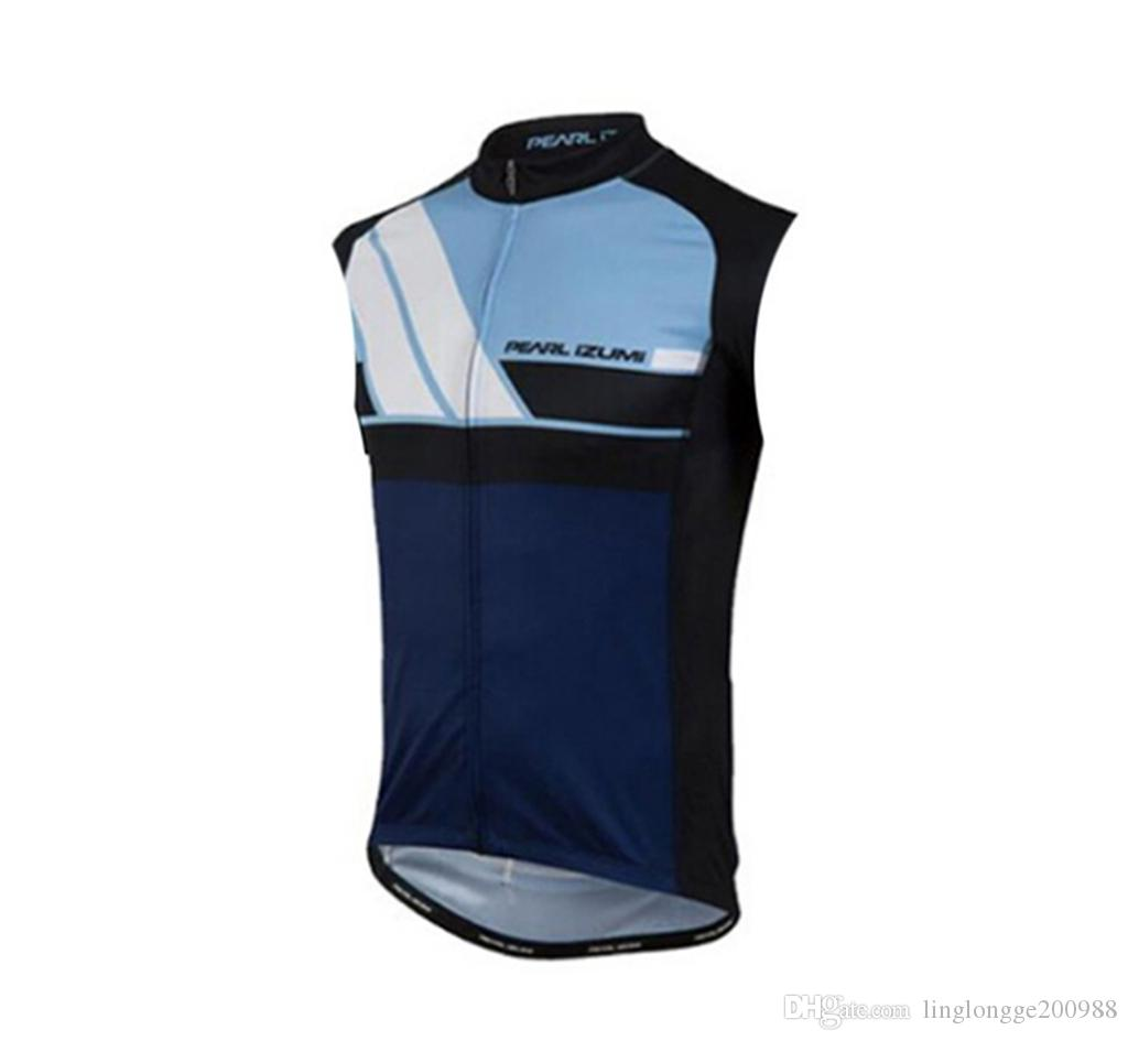 2019 Anti_UV Cycling Summer 100% Polyester MTB Bicycle Clothing Ropa Maillot Ciclismo Bike Clothes Cycling Vest Sleeveless Jerseys Team