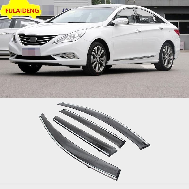 For Hyundai Sonata 2011 2014 3m Tape Smoke Door Window Vent Visor Deflector Car Styling Accessories Auto Interior Accessories Auto Part From Zhanhuacar 117 88 Dhgate Com