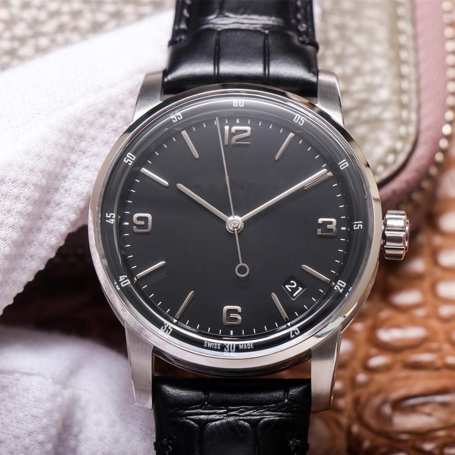 Новый бренд к 2020 году новые высокого качества размер 41мм 4302 кожа дизайнер ремешок часы автоматический манипулятор кожи ремешок для часов