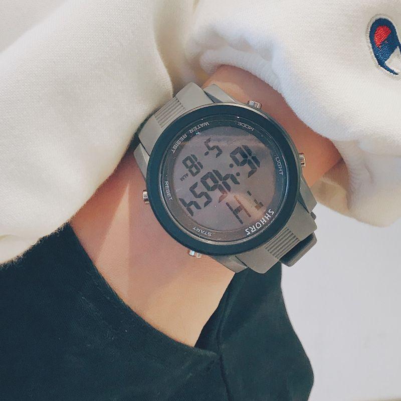2020 New Hot G Sport Shock Watch 9mm Super Slim Men Brand Electronic LEDITAL Wrist Watches For Men Male Clock Relogio Masculino