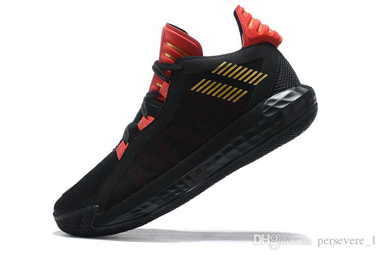 High Quality New Damian Lillard Vi Dame 6 Sports Basketball Shoes For Mens Dame 5 Shoes Black Red White Sports Sneakers Store Cool Kids Shoes Good Shoes For Kids From Persevere 1 51 82 Dhgate Com