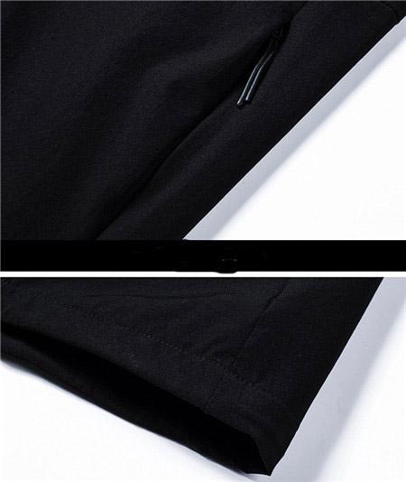 2019 New Designer Mens Fashion Loose Windbreaker Brand Manga larga de alta calidad y colores naturales para abrigo deportivo con talla M-4XL QSL198261
