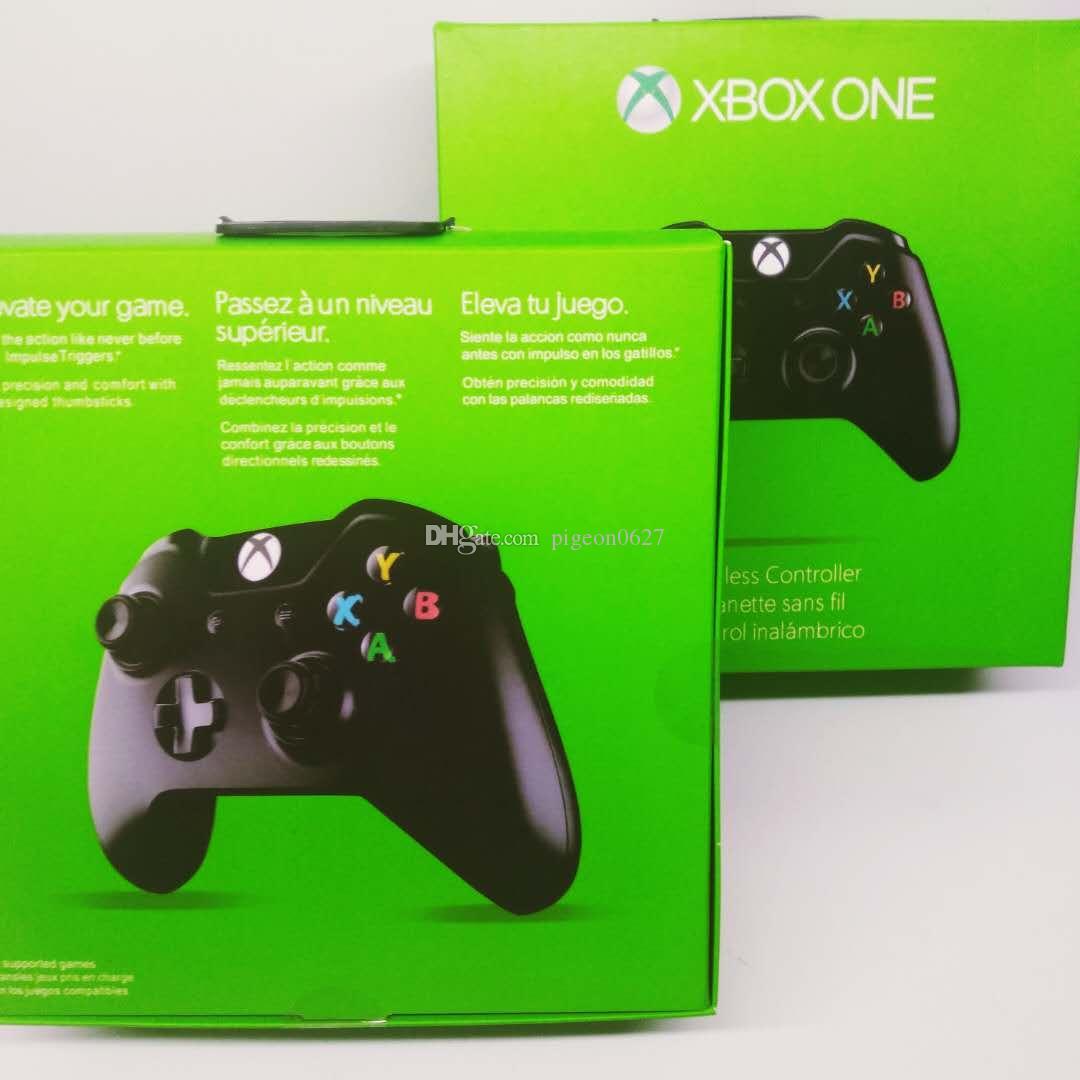 بلوتوث تحكم لاسلكي غمبد لعبة المقود لأجهزة إكس بوكس واحد للتحكم Microsof وX-BOX مع التعبئة البيع بالتجزئة VS PS4 DHL