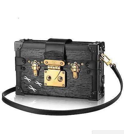 40273 M New Petite Malle Fashion Box Tasche Hobo Handtaschen Top-Griffe Boston Cross Body Messenger Schultertasche