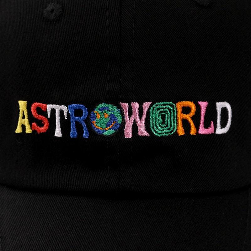 Casquillo del snapback de alta calidad Travis Scotts algodón gorra de béisbol para los hombres de las mujeres de Hip Hop sombrero del papá del hueso Garros Snapbacks