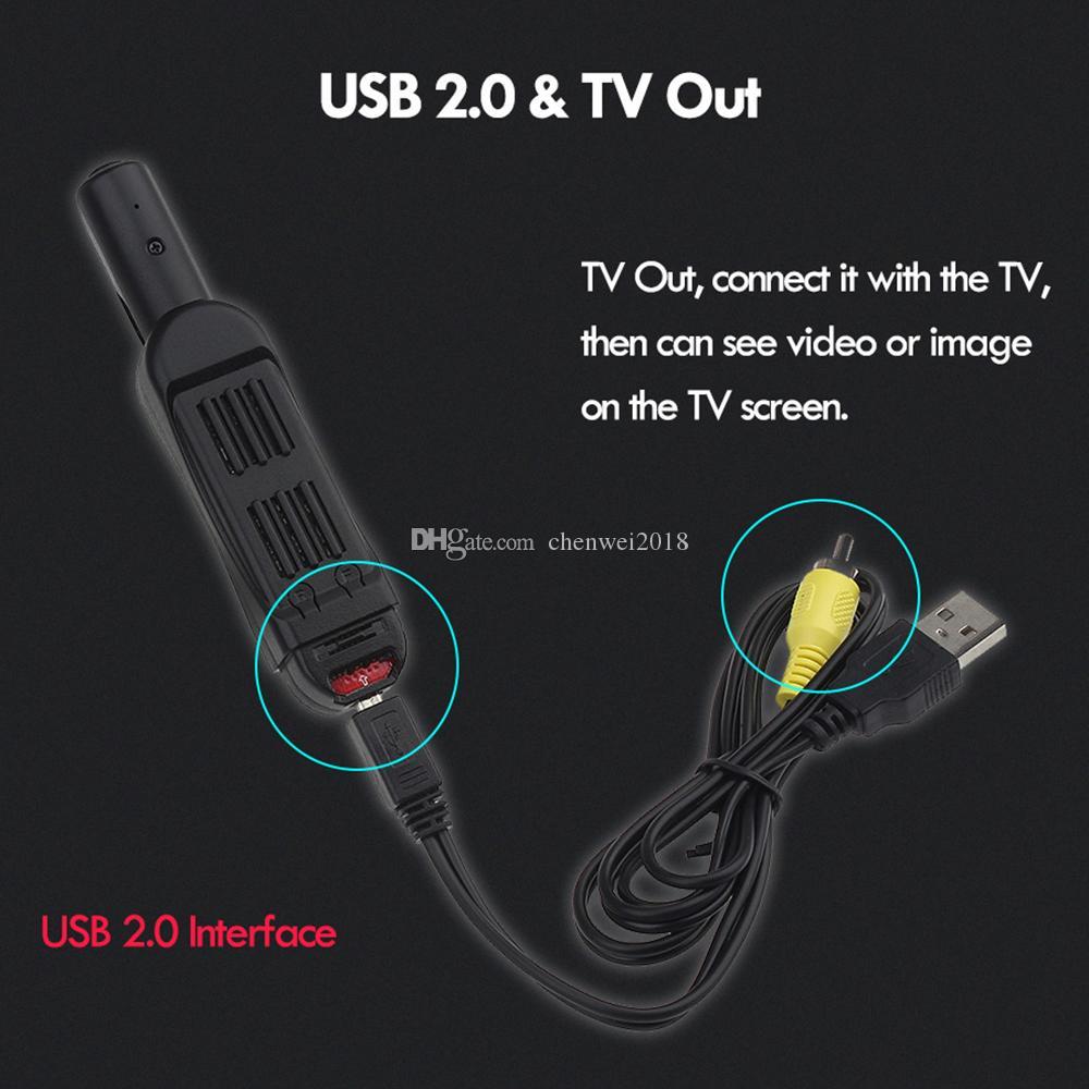 T189 Mini DV Camera HD 1080P 12MP Micro Pen Video Recorder Camcorder Portable Digital Cam DVR TV Out Pocket Pen Camera