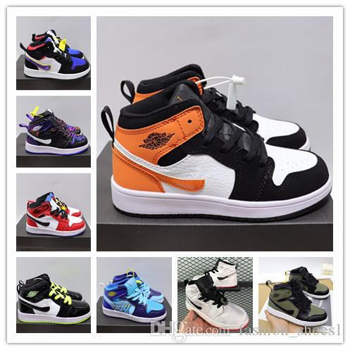 2020 Jumpman 11s children Baseball Shoes Athletics Sneakers Running Shoe For kids Sports Torch Hare Game Royal Pine Green Court