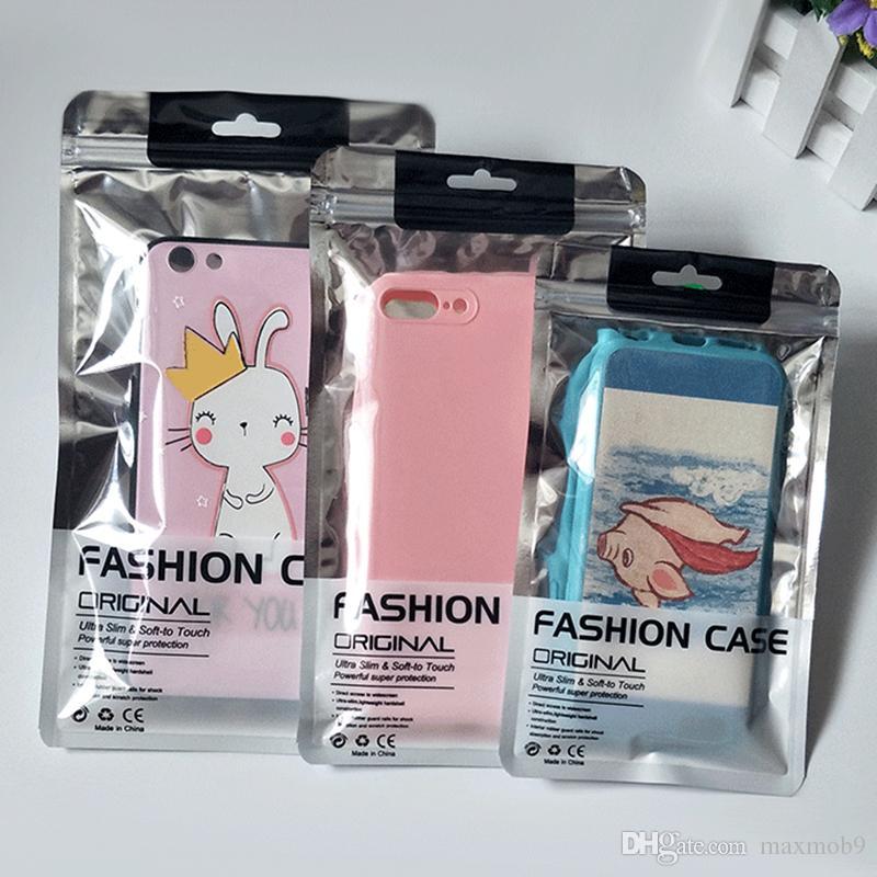 12 11 pro Iphone XS MAX XR X 8 7 6 Fall Kleinpaketbeutel Kasten für Samsung S10 S9 S8 Anmerkung 9 10 plus Handygehäuse Universal Verpackungs