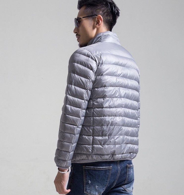 Piumino di design per uomo Nuovo giacche invernali da collo sottile Stand Warm Mens Capispalla di lusso da uomo Piumino 6 Colori Taglia S-6XL