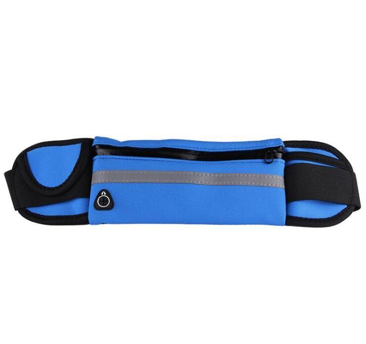 Professional Men Women Running Waist Bag Pouch Sport Belt Mobile Phone Hidden Bag Racing Jogging Gym Running Belt Waist Pack