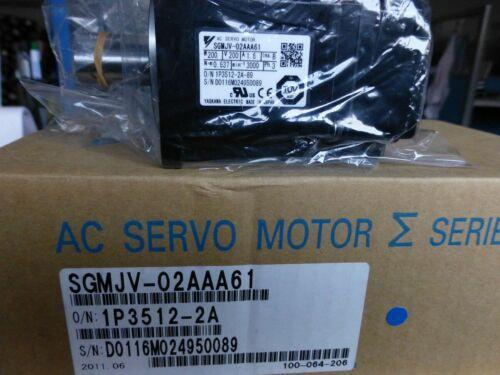 NUEVA Yaskawa servo motor SGMJV-02AAA61 + SGDV-1R6A01A002000 garantía de un año