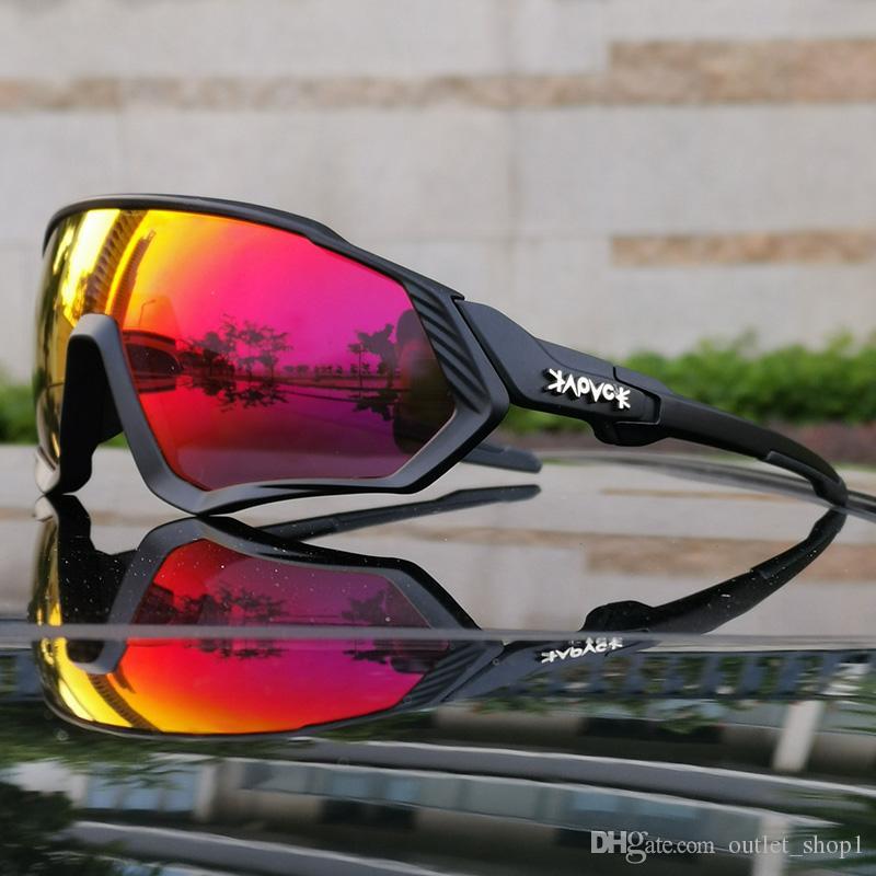 ركوب الدراجات نظارات رجال الرياضة وركوب الدراجات نظارات الدراجات الجبلية الدراجات نظارات شمسية امرأة UV400 نظارات عدسة 5