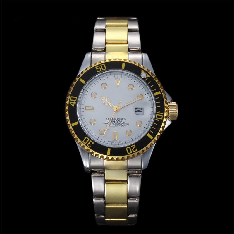 buygogo Famous designer popular modern watch Male clock High quailty Classic model man Quartz watches Stainless steel Quartz wristwatches