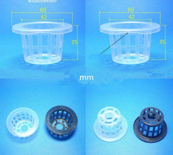 08 Ekiciler tencere Dikim sepet plastik hidroponik sebze dikim sepeti topraksız ekim mavi fincan kök sabitleme devic7