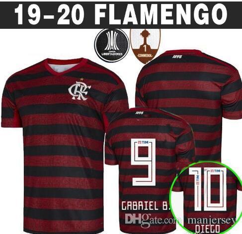 Acquista 2019 20 Flamengo Jersey Maglie Di Calcio Fiammingo GUERRERO DIEGO VINICIUS JR Brasile Flamengo GABRIEL B Maglia Da Calcio Sportivo A 15,34 € ...