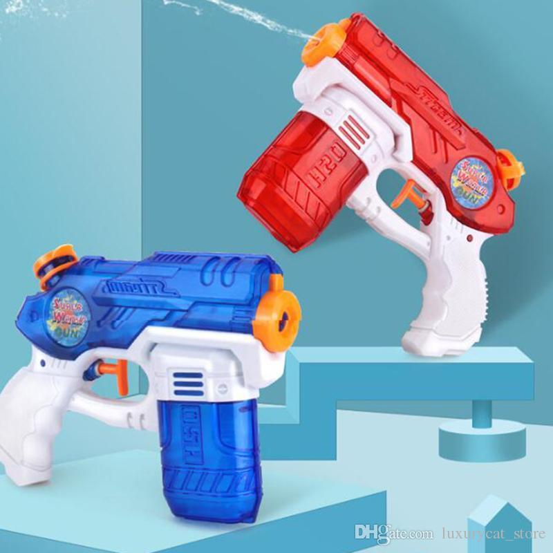 Baby Toys Beach Water Gun Toy Swimming Pool Party Plastic Outdoor Game Tool Pistol Press Type Kids Water Guns Water Balloons