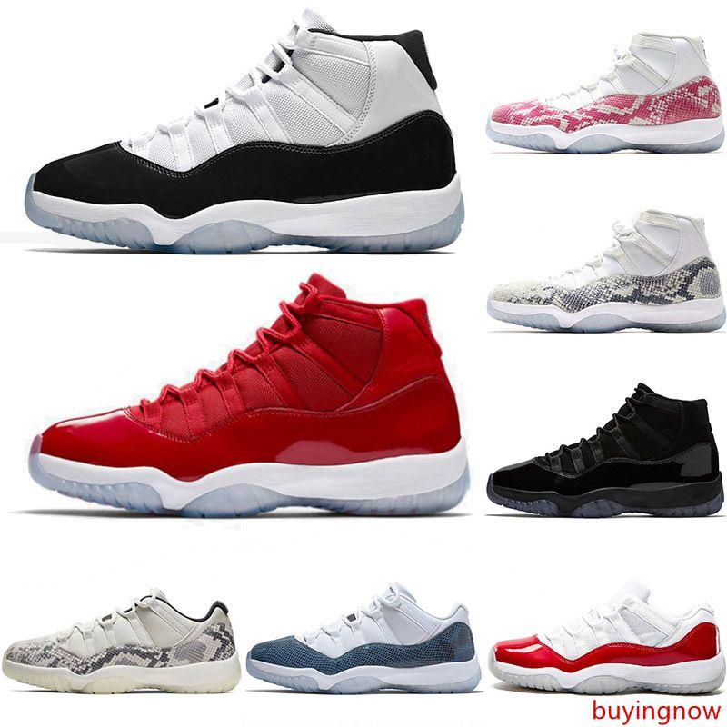2019 мужские баскетбол обувь 11С Конкорд 45 змеиной 11 Космический джем тренажерный зал Красной Шапочке и мантии выиграть как 96 всячески препятствовать женские спортивные кроссовки