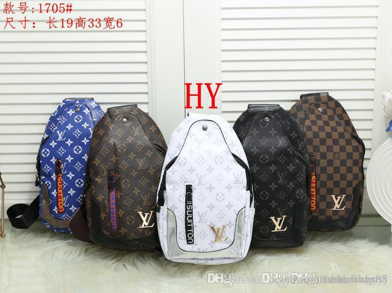 Hot uomini e donne designer nuove borse luxurys uomini e donne pochette portafoglio borsa borsa petto in pelle multicolor messaggero di alta qualità