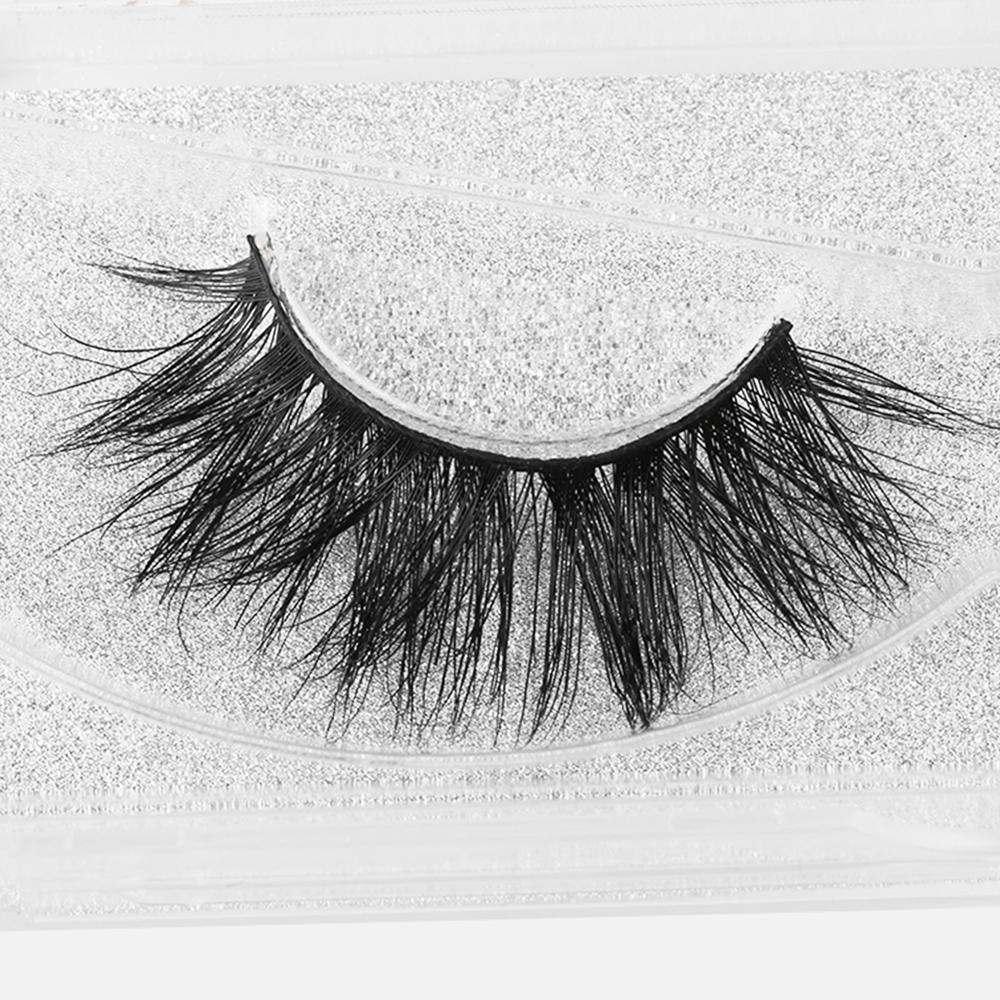 1Pair Sexy Fashion Charming Stylish 3D Mink False Eyelashes Long Cross Beauty Eye Lashes Extension Cosmetic Makeup Tools D19011701
