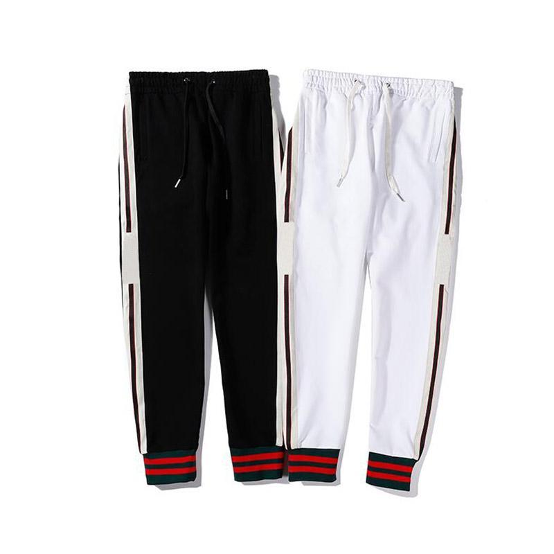 Luxury Mens Jogger Pants New Brand Drawstring Sports Pants High Fashion Side Stripe Designer Men Women Joggers