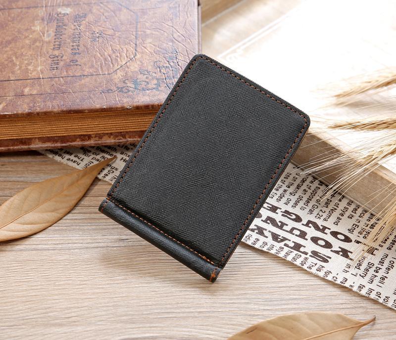Men Fashion Vintage Handbag Wallets ID Credit Card Holder PU Leather Purse