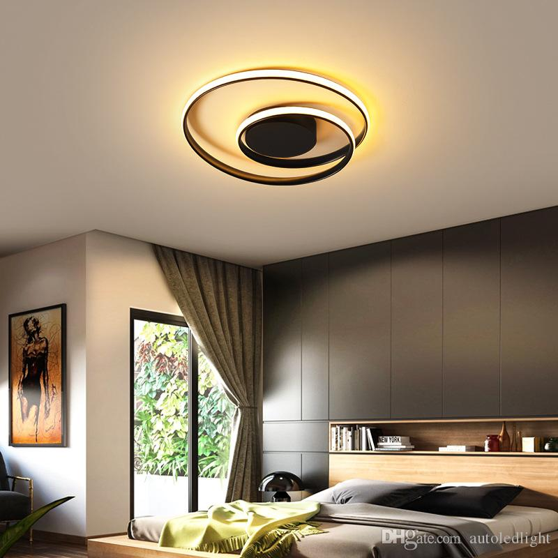 Creative Nodic Style Ceiling Lights Modern Ceiling Lamp curve Circle Round LED Pendant Lamp Home chandeliers Lighting