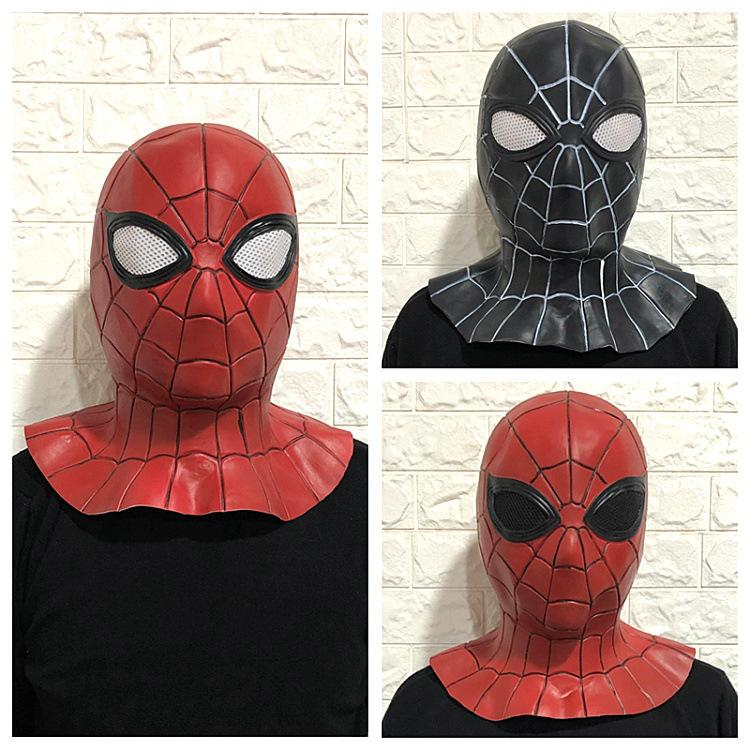 Masques Eco-friendly Halloween Party Masques Cosplay film Spider Man Gers aven Mask Head Party de vitesse Masques Livraison gratuite