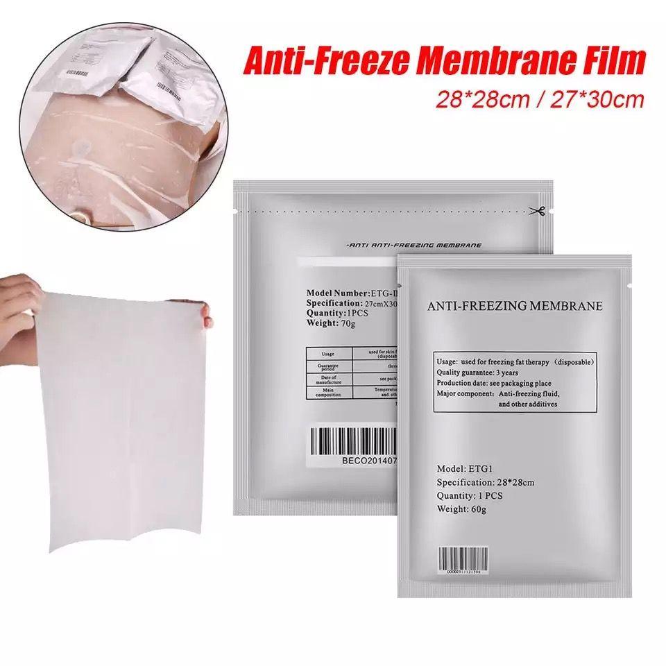 Yağ Kullanımı Donma için Zetiq zayıflama makinesi Antifriz Membran 2020 Yeni 28x28 / 27x30 / 34x42 Antifriz Membran