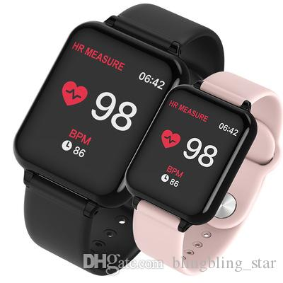 Smart Watch B57 Smart Watches Waterproof Sports for iPhone Phone Smartwatch Heart Rate Monitor Blood Pressure Functions For Women men kids