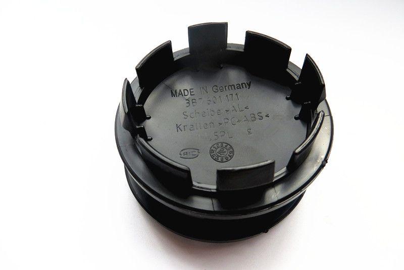 100pcs 55mm 56mm 60mm 63mm 65mm 자동차 휠 센터 모자 허브 캡 커버 3B7601171 1J0601171 6N0601171 자동차 스타일링 자동차 액세서리