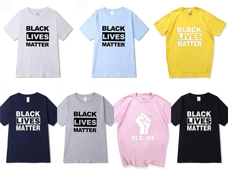 Eu não posso respirar! New BALR Designer T Shirts Hip Hop Mens Designer camisetas marca de moda das mulheres dos homens de manga curta tamanho grande Camiseta # 416