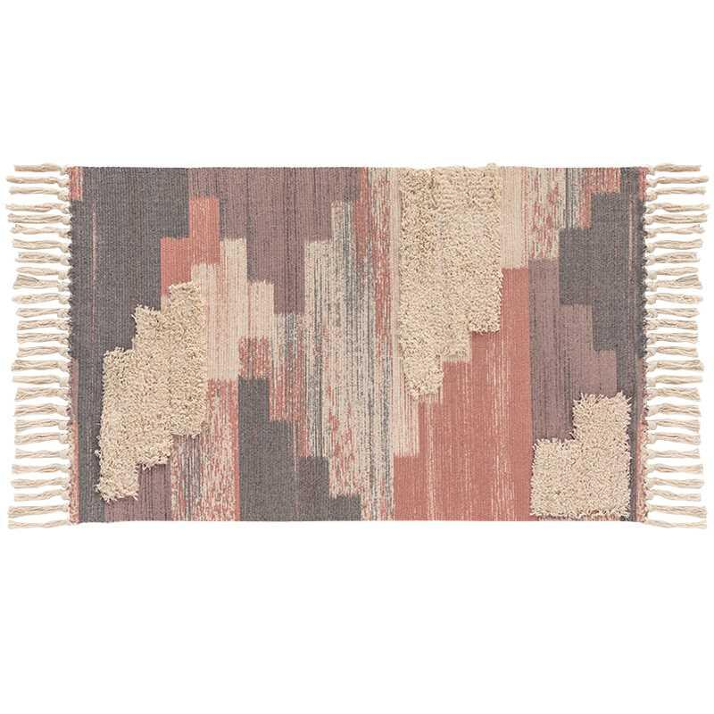 북유럽 스타일 소프트 술 카펫을 위해 거실 침실 소프트 매트면 건강한 자연 홈 카펫 바닥 문 매트 지역 양탄자