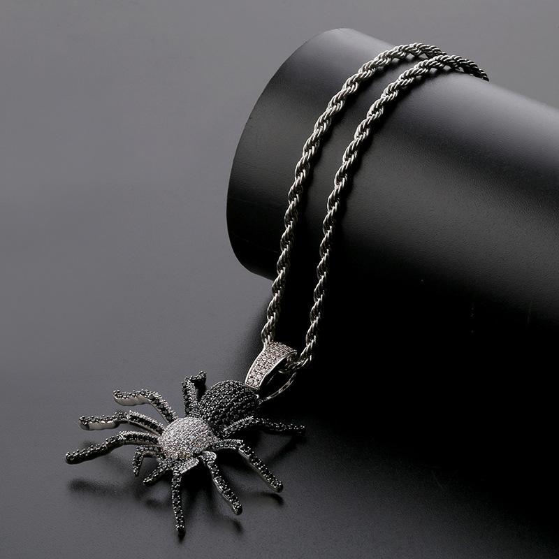 Colares Para Homens colares de Jóias de Hip Hop correntes de charme ouro de prata gotas de prata