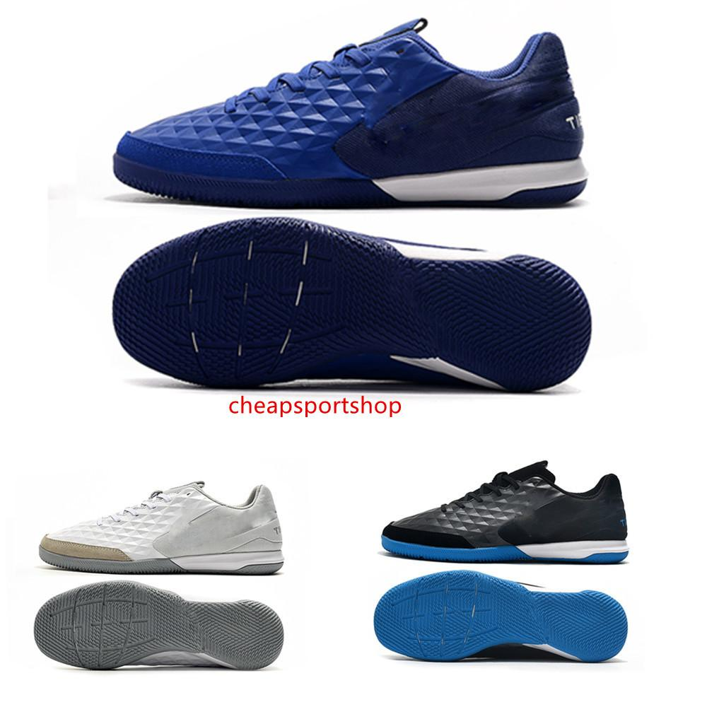 2019 novos sapatos de futebol dos homens Legend VIII Academy IC grampos do futebol botas Tiempo Lunar Legend VIII Pro IC futebol de alta qualidade size35-46