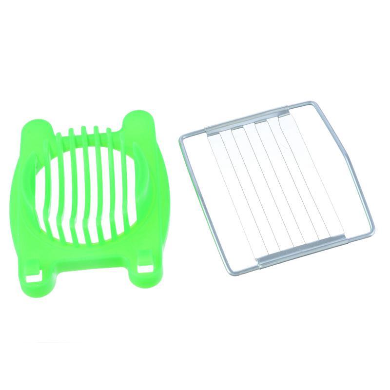 Multifunktions tragbaren Cut Separate Küchenwerkzeuge Küchen Eier Slicer Pilz Edelstahl-Draht-Chopper Schäler-Werkzeug neu