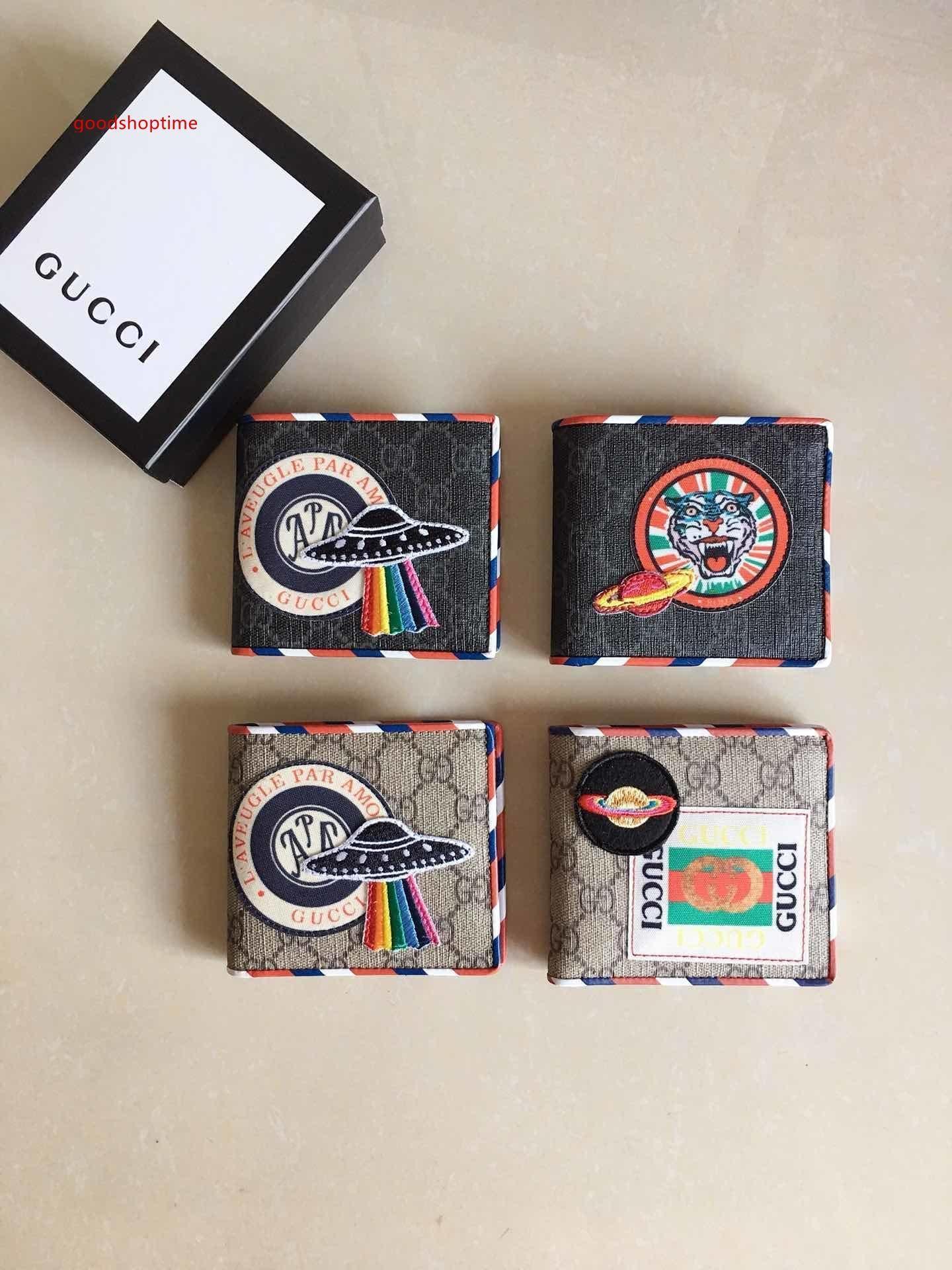 titulares de la tarjeta hombres del cuero genuino carpeta de la manera más Tiger carta carpetas de la tarjeta de bus de tarjetas de crédito para las mujeres con la caja 49633