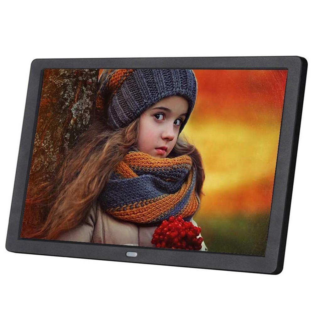 Новый 10-дюймовый экран LED Backlight HD 1024*600 Цифровая фоторамка электронный альбом картина музыка фильм полная функция хороший подарок