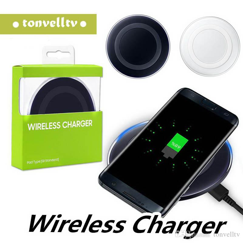 Wireless Qi Transmitter Pad Fast Charger pad Certified Quality iPhone X Samsung Galaxy Phones