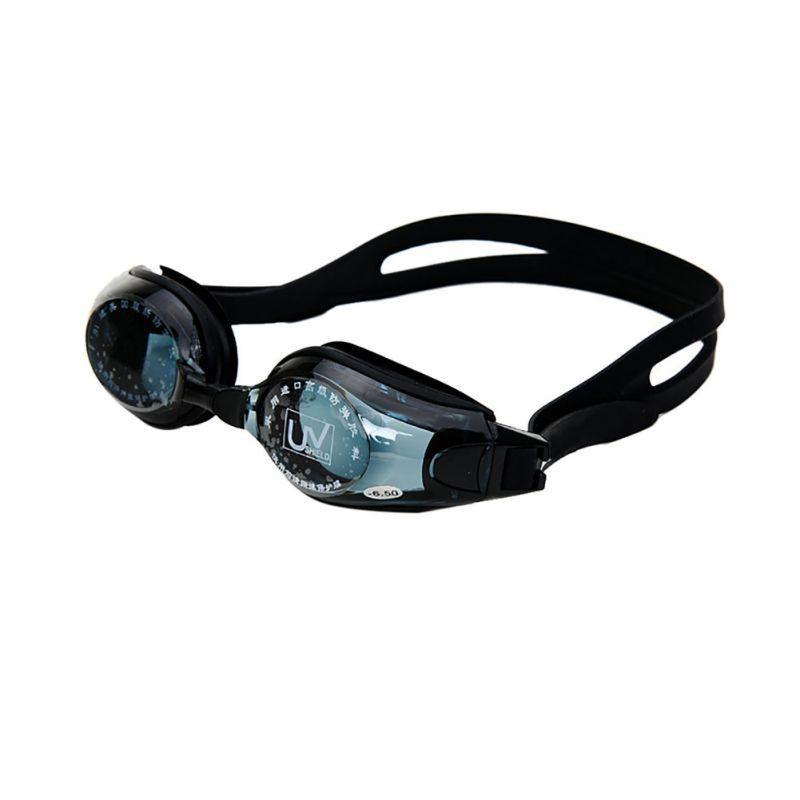 Natação óculos Silicone Anti-fog UV Protection Adulto Miopia Óculos de Natação Revestido da água máscara de dioptria Natação óculos óculos