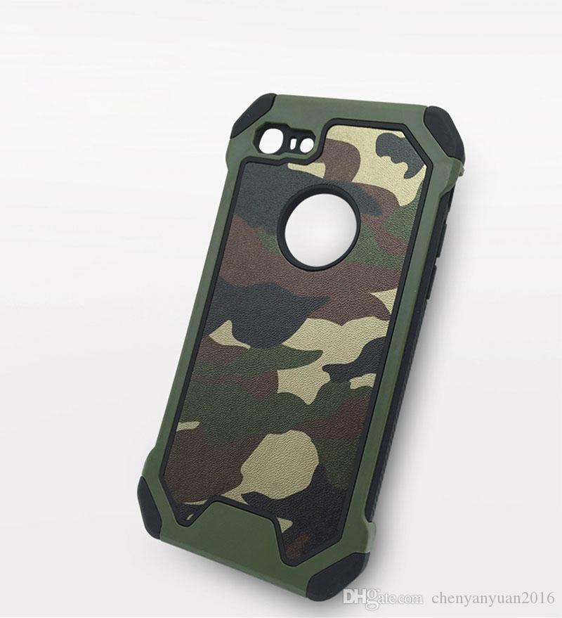 Armée Camouflage cas modèle pour l'iphone X 7 6 6S 8 Plus XR XS MAX couvrir les cas de protection téléphonique