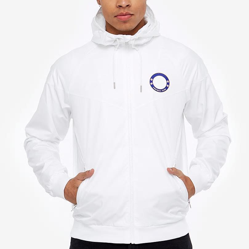 Оптовая ветровка мужской футбольный клуб команды куртки спортивная молния спортивная куртка кроссовки прямая поставка CE98265