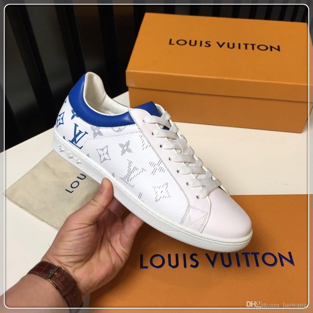 Estate Uomo Scarpe Sneakers Sport Fashion lusso superiore scarpe da tennis traspirante uomini di disegno scarpe di moda di lusso Zapatos Hombre