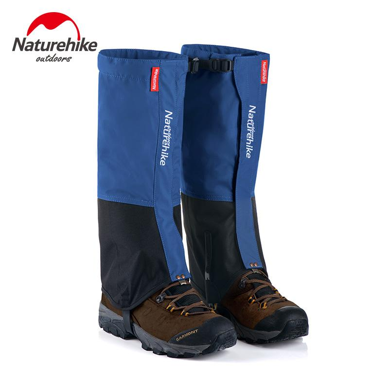 Naturehike Autoard Snow Legging Gaiters Windful Shoes Cover For Sliking Walking Climbing Gaders NH17A001-D