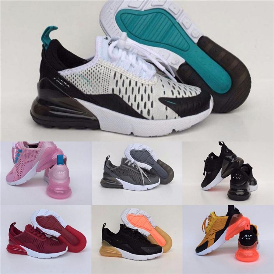 Free Shipping Plus Tn Kids Kids Running Shoes Triple Black New Born Baby Toddlers Children Boys Girls Sneakers Preschool Trainers #864