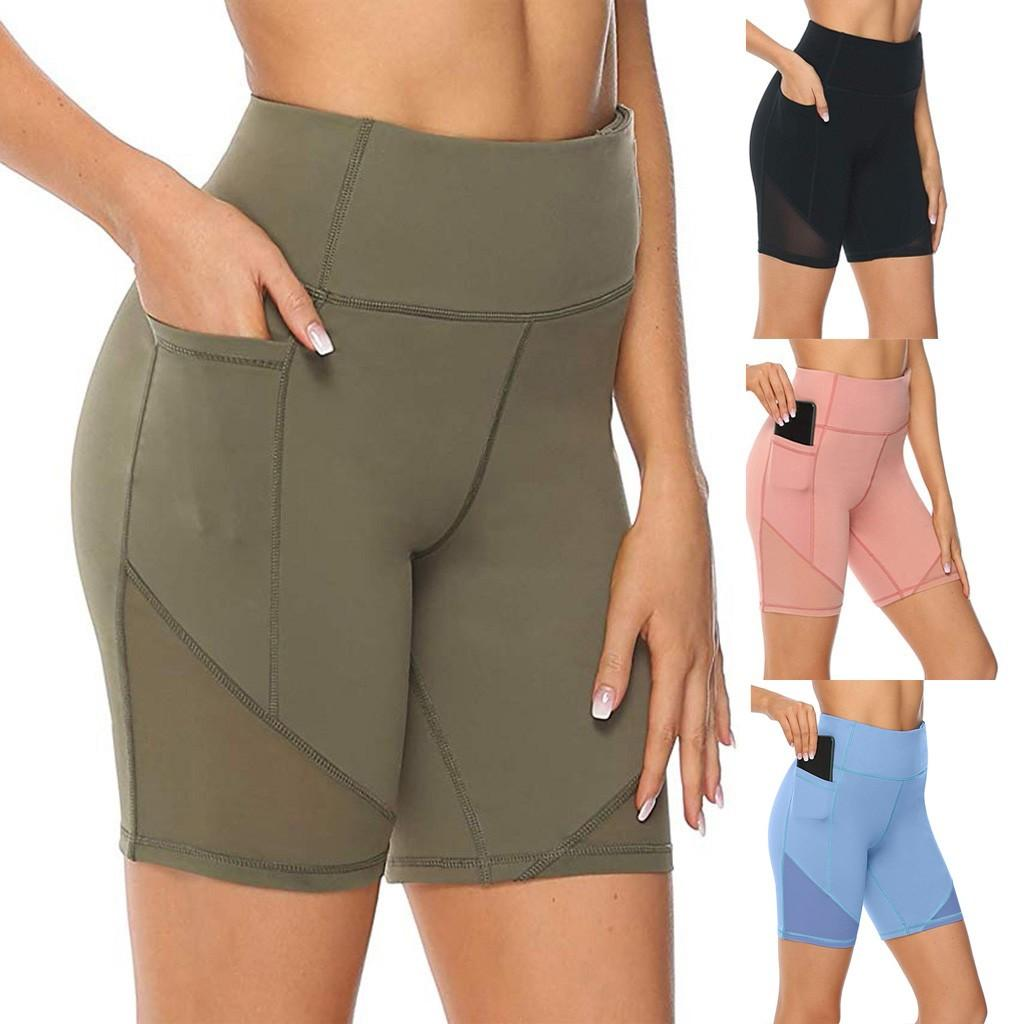 2020 Leggings Women High Waist Short Abdomen Control Training Running Fitness Legging High Waist Pants LUL