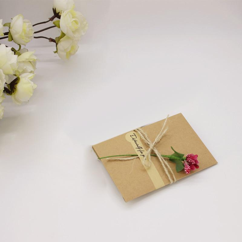 10Pc Wedding Invitation Card Kit With Envelopes Seals Personalized PrintingCard