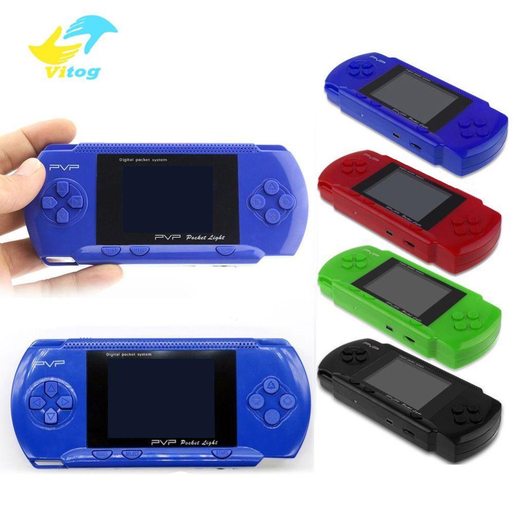 Vitog pvp giocatore 3 Gioco portatile da 2,8 pollici 8 Bit Slim Stazione TV Video Games Player gioco portatile console controller Classic Games
