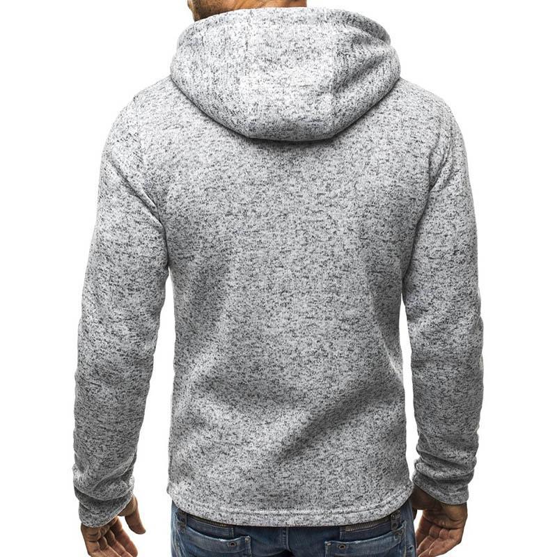 Hot Fashion Men Winter Slim Hoodie Warm Hooded Sweatshirt Zipper Up Coat Jacket Outwear Tops HD88
