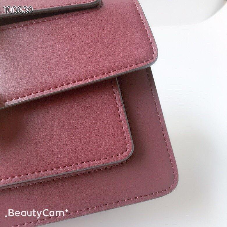 2020 neue Qualitäts-echtes Leder-1: 1 Handtasche Schultertasche Rucksack BackpackDNL2