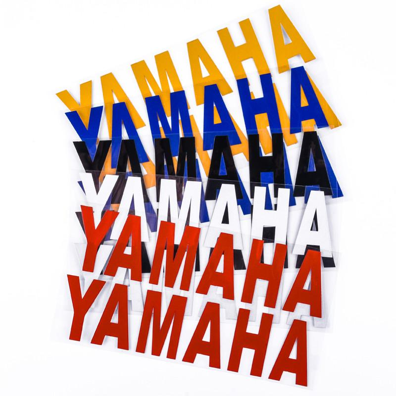 Adesivo Logo decorativo riflettente decalcomanie della carenatura per Yamaha Moto